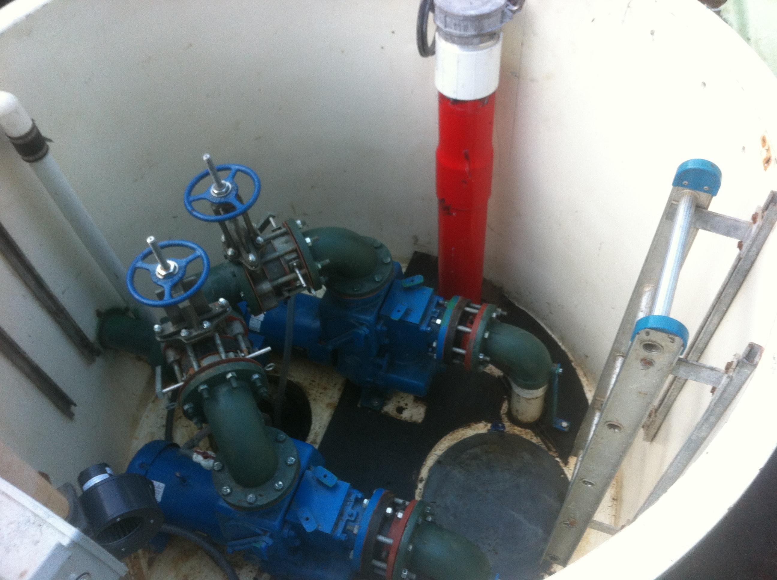 sewer pump station design guidelines